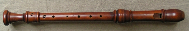 alto (treble) recorder after Stanesby Junior
